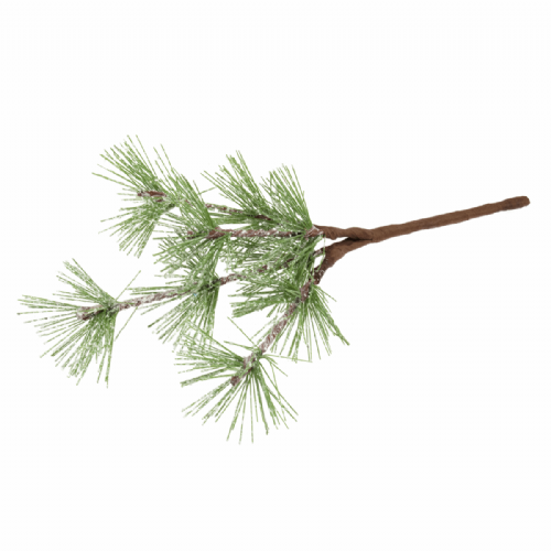 Leaves Frosted Spruce 15cm 12 x 1 Branch